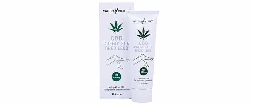Natura Vitalis CBD Tired Legs